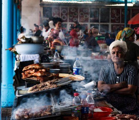 Bazar Chorsou Tachkent Ouzbékistan Tanya Zavkieva