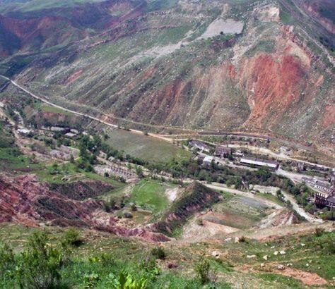 Uranium Kirghizstan Interdiction Extraction
