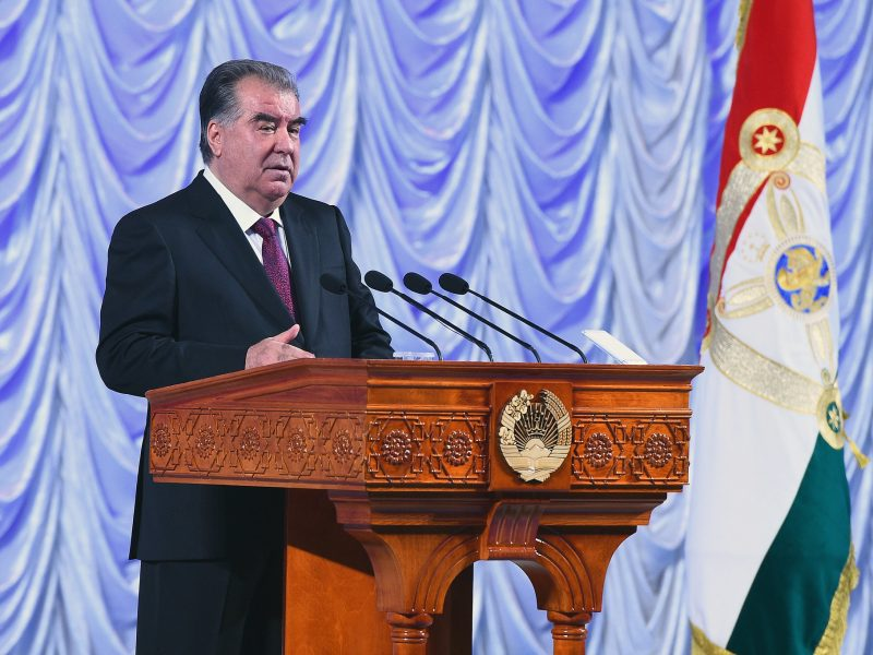 Emomalii Rahmon Emmanuel Macron France Tadjikistan visite officielle Diplomatie