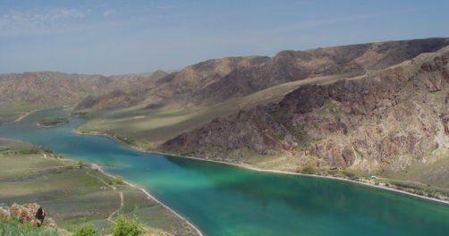 Fleuve Ili Kazakhstan Chine tension eau