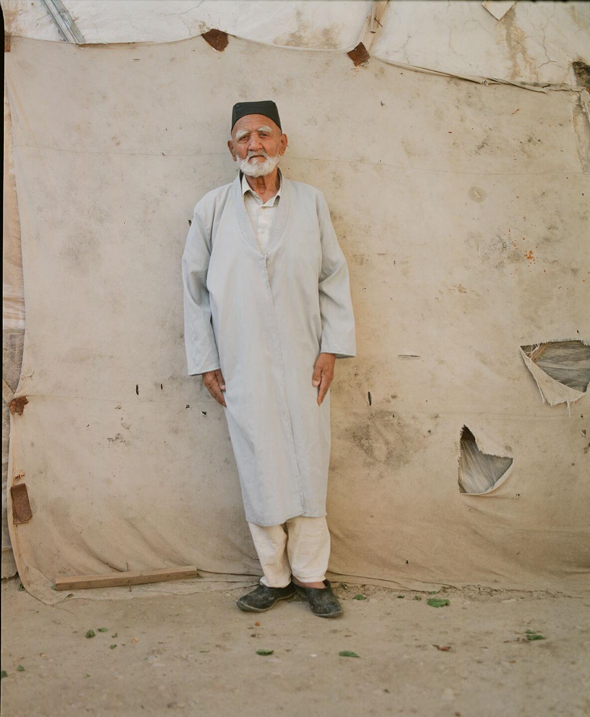 Portrait Samarcande Ouzbékistan Hassan Kurbanbaev