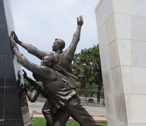 Bichkek Kirghizstan Monument Manifestation Révolution