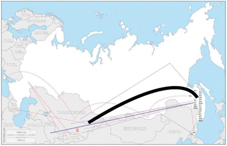 Kazakhstan Coréens migrations