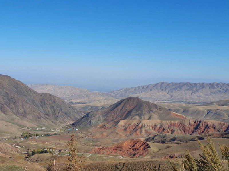 KirghizistanVallée Montagnes