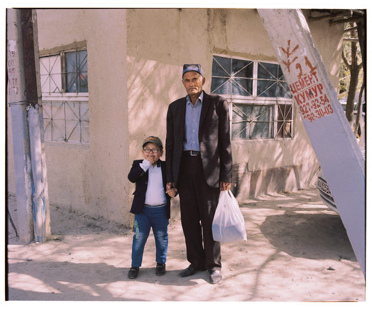 Samarcande vielle ville portrait Ouzbékistan Hassan Kurbanbaev
