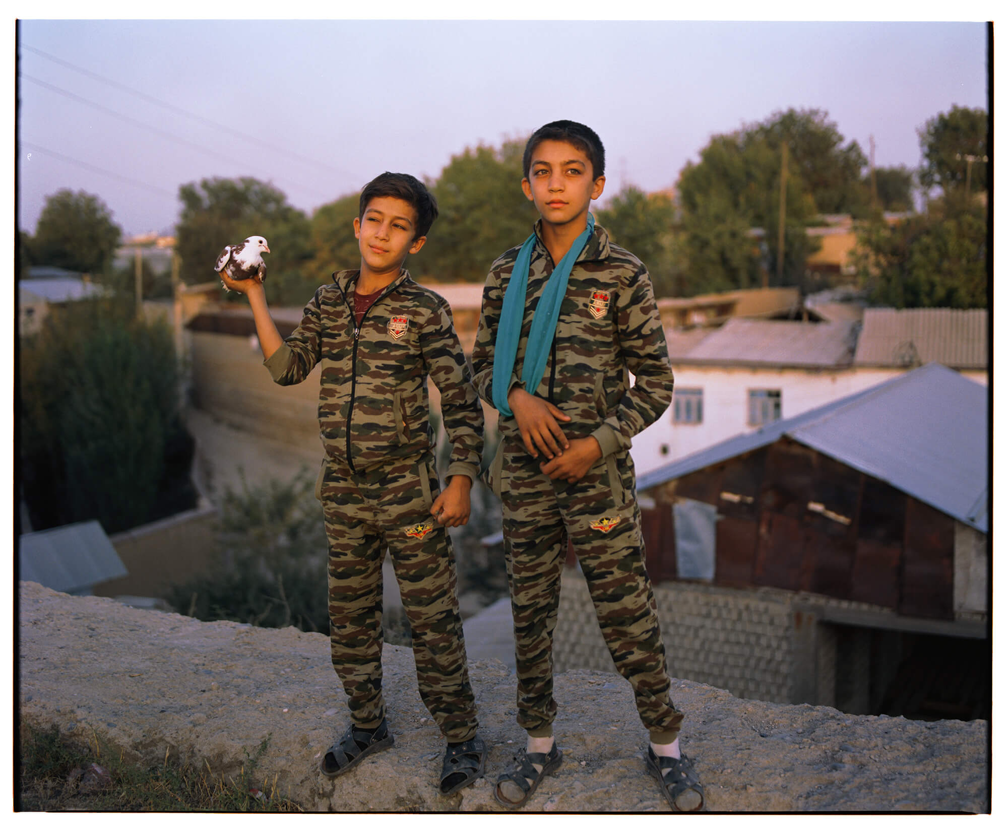 Frères Lyuli Samarcande Ouzbékistan Loli Kichlak Hassan Kurbanbaev