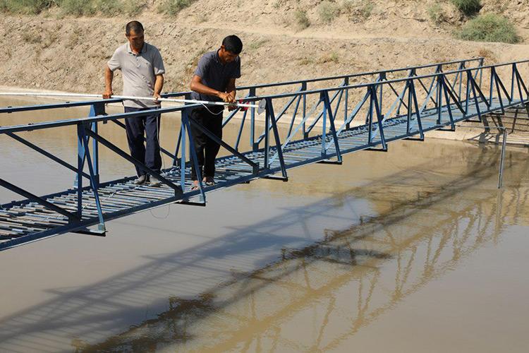 Canaux d'irrigation Ouzbékistan Agriculture Eau
