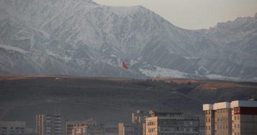 air pollution Bichkek panorama