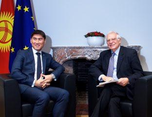 Diplomatie Kirghizstan Tadjikistan Union européenne Sirojiddin Mouhriddin Tchingiz Aïdarbekov