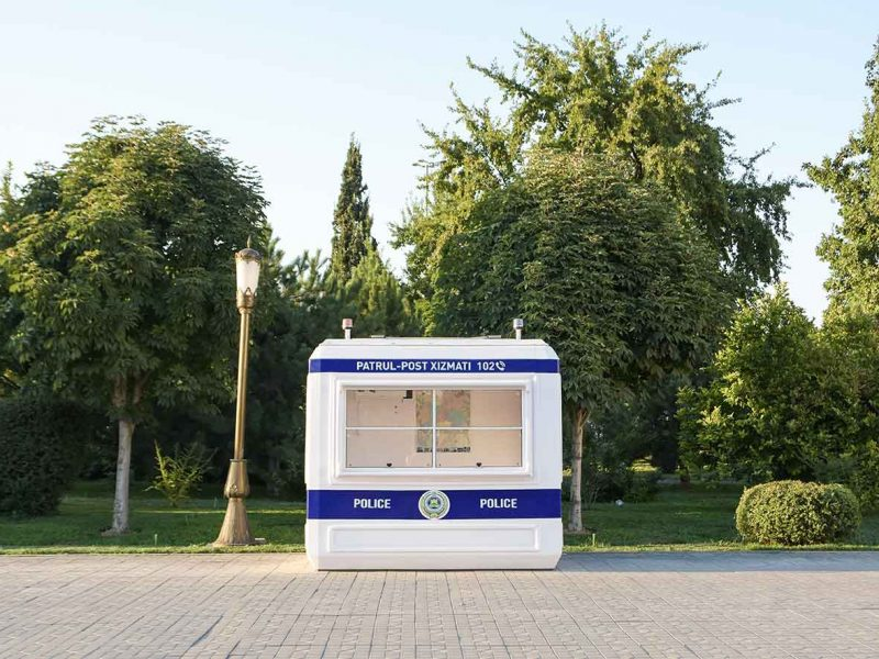Ouzbékistan Tachkent policier