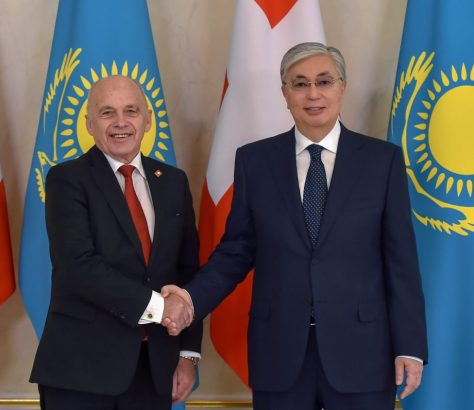 Kazakhstan, Nur-Sultan, Ueli Maurer, Kassym-Jomart Tokaïev