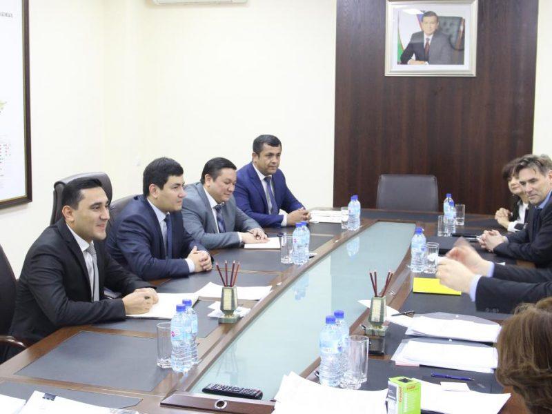 Orano Nurlikum minin Ouzbékistan Comité d'Etat ouzbek pour la Géologie Co-entreprise Uranium