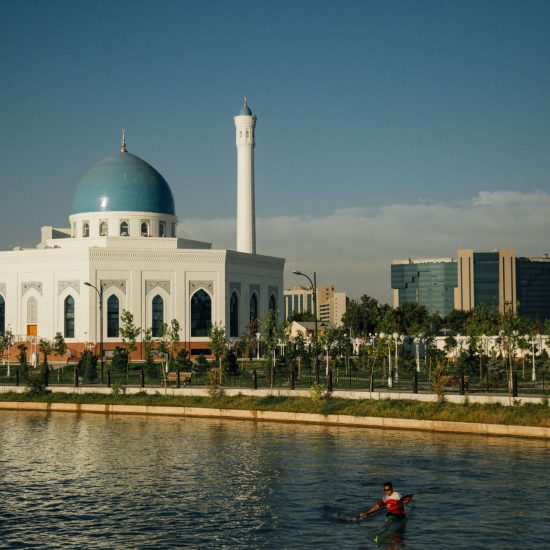 Sport nautique Moquée Minor Tachkent Ouzbékistan Stanislav Magay