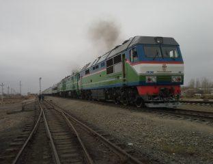 Train Ouzbékistan Kazakhstan Frontière Extorsion garde-frontière corruption