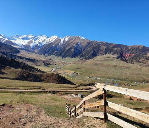 Kirghizistan Asie_centrale Alpes