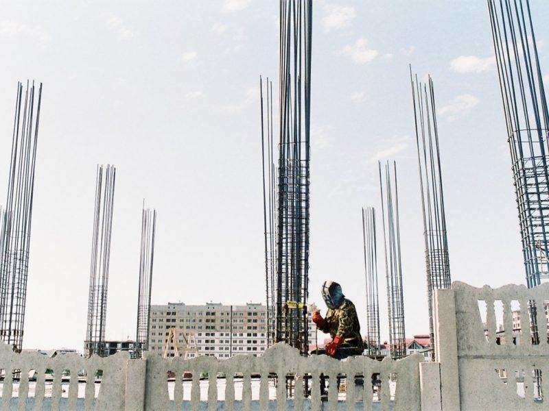 Soudage Kirghizstan Bichkek Construction