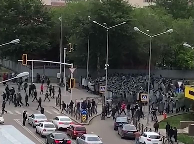 Nur-Sultan Manifestation Mai 2019 Kazakhstan Politique