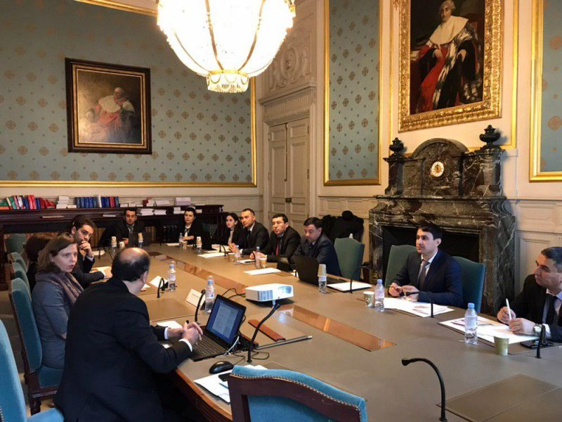 Ouzbékistan Réforme Droit Propriété Code Civil France Visite