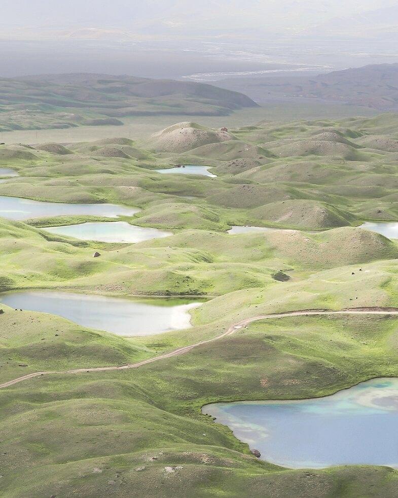 Lacs Tulpar-koul Kirghizstan Pamir