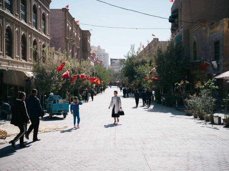 Kachgar Ouïghoure Xinjiang Chine