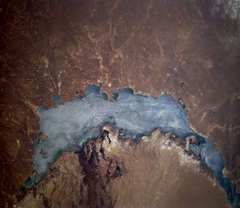 Lac Balkhach Kazakhstan Eau Environnement