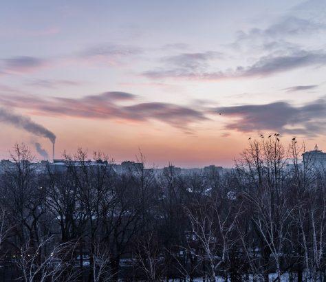 Bichkek Kirghizstan Smog