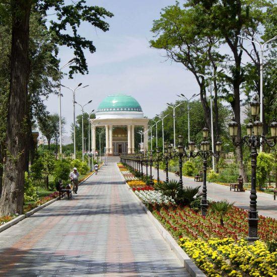 Parc Kamal Khoujandi Khoudjand Tadjikistan