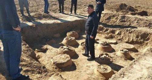 Ouzbékistan Archéologie Découverte Kouchan Royaume Grenier Antiquité