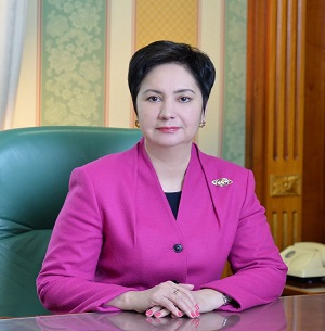 Goulchara Abdykalikova Gouverneure Kyzylorda Kazakhstan Nomination Région Oblast