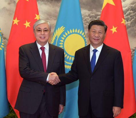 Kassym-Jomart Tokaïev Xi Jinping Chine Asie centrale Kazakhstan Kirghizstan Tadjikistan Ouzbékistan Turkménistan Influence Soft Power