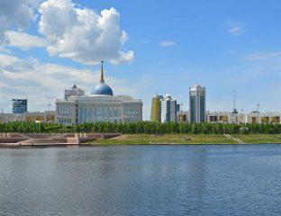 Nur-Sultan Coronavirus Covid-19 Education Cours en ligne e-éducation