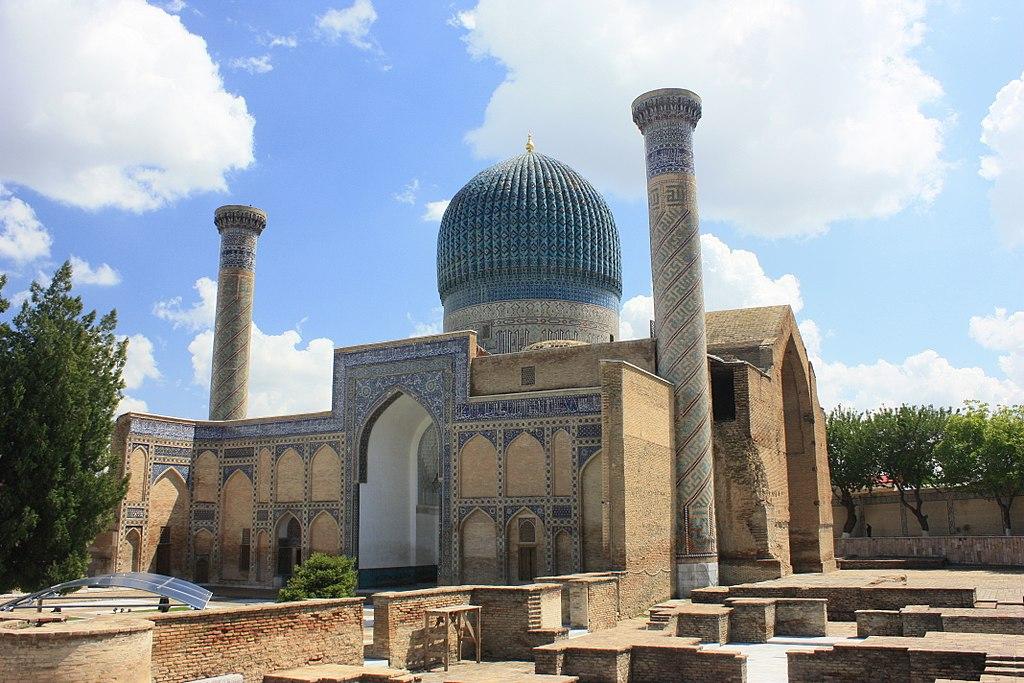 Mausolée de Tamerlan à Samarcande en Ouzbékistan