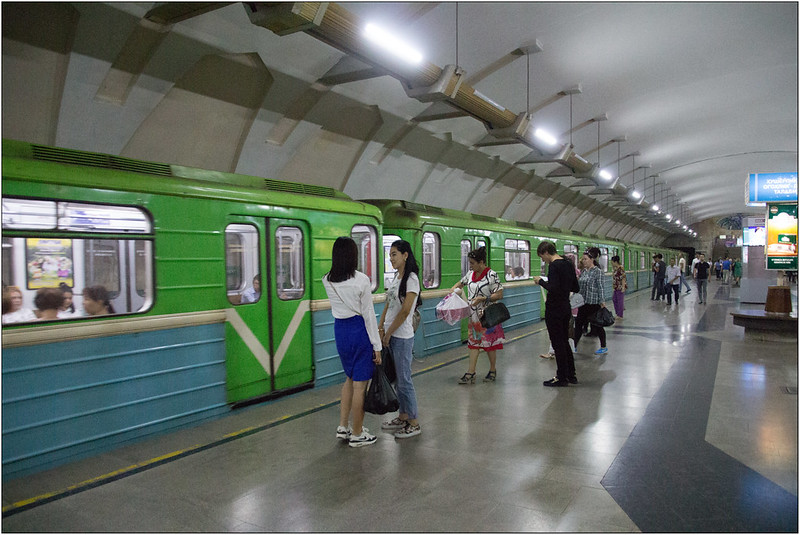 Ouzbékistan Métro Tachkent