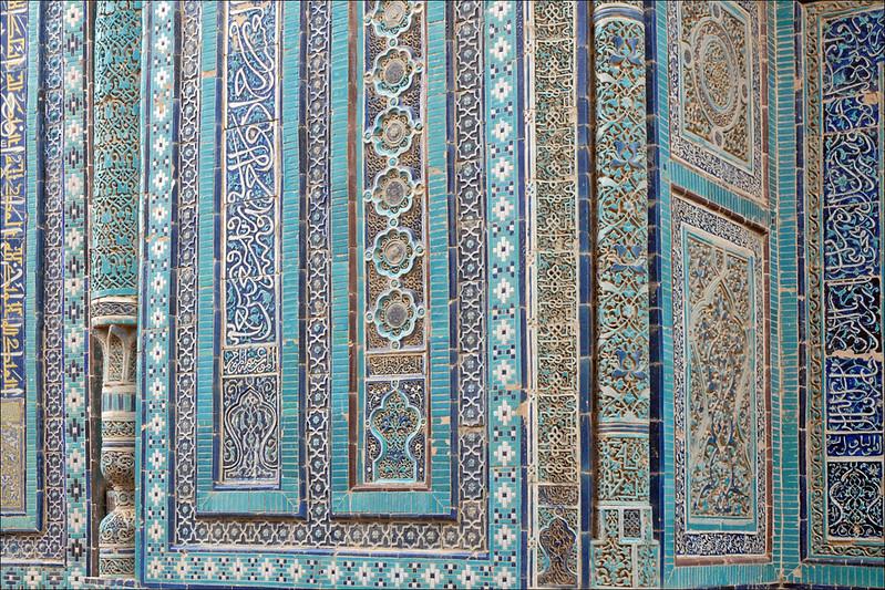 Samarcande nécropole Chah-e-Zindeh Ouzbékistan
