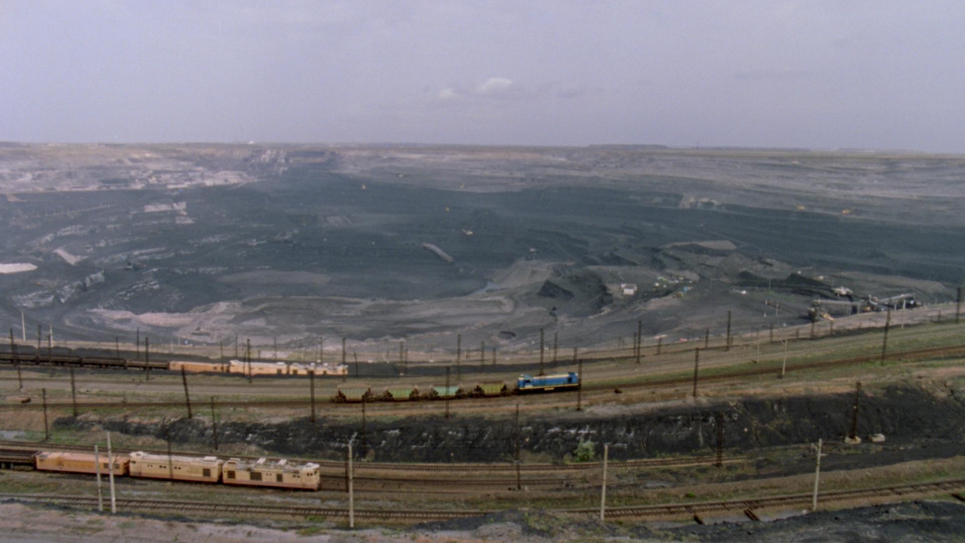 Kazakhstan Géologie Trains Cinéma Transport Paysage