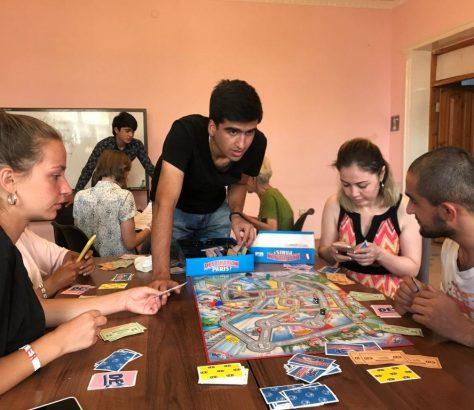 ESOL Equality and Solidarity Tadjikistan France Jeunesse Association Aide Ecole