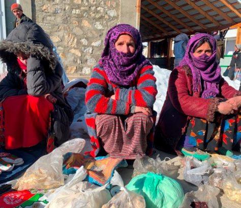 Femmes marché Tadjikistan Khorog