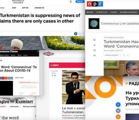 Turkménistan RSF Reporters sans frontières Fake news Itinéraire Journalisme Information