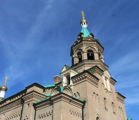 Cathédrale Saint-Alexis Samarcande Ouzbékistan Eglise orthodoxe