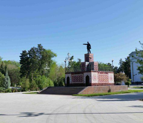 Lénine au Turkmenistan