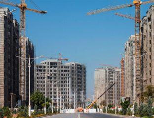 Achgabat Turkménistan Démographie Travaux Million