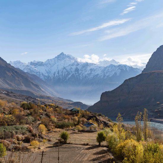 Afghanistan Tadjikistan Frontière Montagne