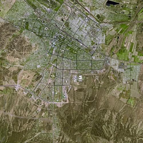 Achgabat Turkmenistan Satellite