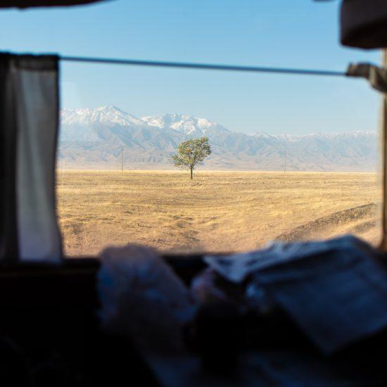 Tian Shan Kazakhstan train Antoine Béguier