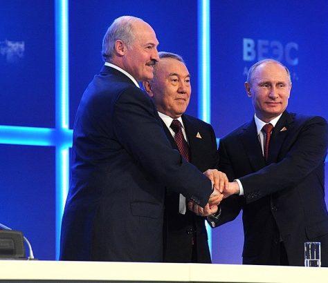 Russie Kazakhstan Belarus Biélorussie Union économique eurasiatique UEE Union douanière Kazakhstan Kirghizstan Arménie Critique