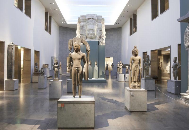Musée Guimet Exposition Tadjikistan Report Eté 2021 France Paris