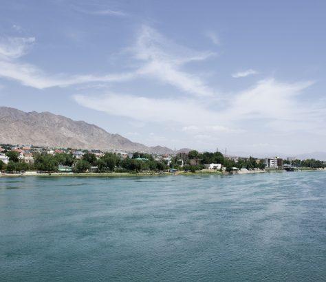 Syr-Daria Tadjikistan Khodjent Vallée de Ferghana