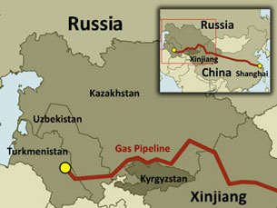 Gaz Turkménistan Kazakhstan Ouzbékistan Chine Coronavirus