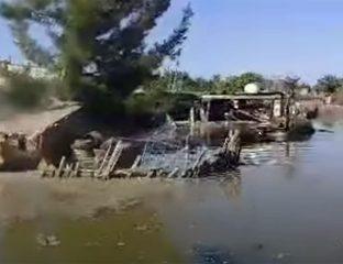 Rupture Barrage Turkménistan Inondations Catastrophe Naturelle Mary Lebap