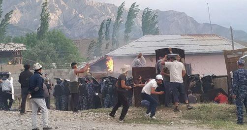 Conflit Frontière Ouzbékistan Kirghizstan Sokh Batken Enclave